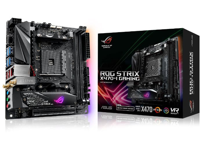 Asus AMD X470 Motherboard Range