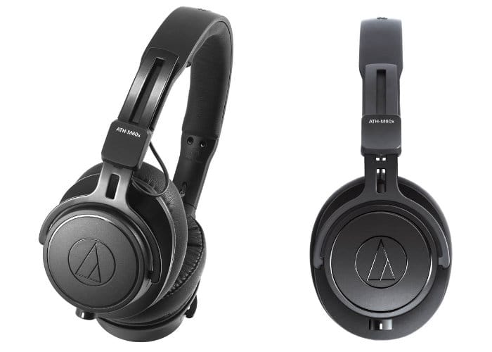 Audio-Technica ATH-M60x On-Ear Professional Monitor
