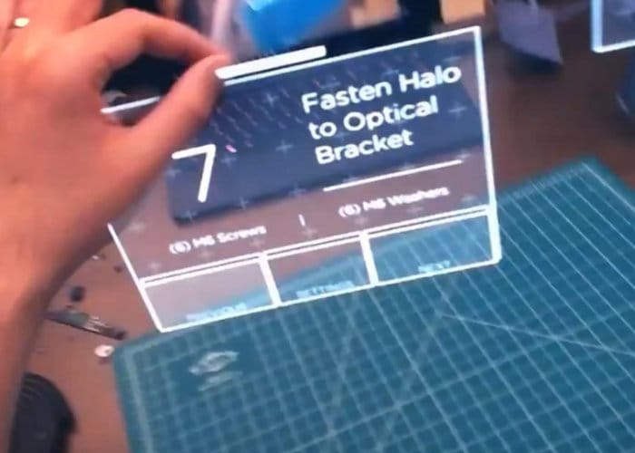Augmented reality user interface