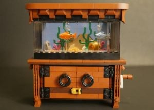 Awesome LEGO Clockwork Aquarium