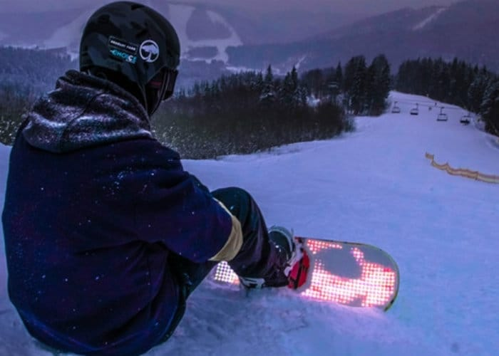 Blizzard LED Snowboard Lighting System