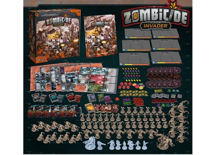 CMON Zombicide Invader Board Game