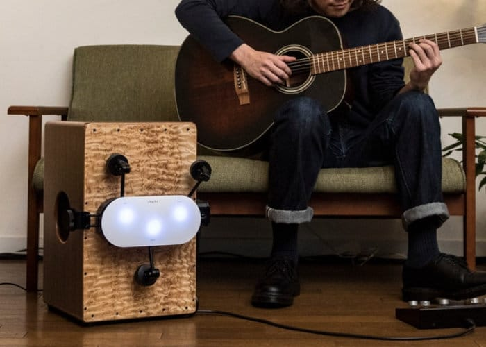 Cabot Smart Percussion Robot For Solo Musicians