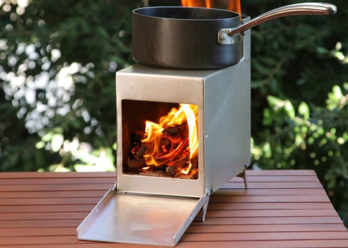Cook-a-Burra Camping Wood Stove
