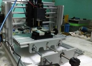 DIY 3-Axis CNC Desktop Milling Machine And Engraver