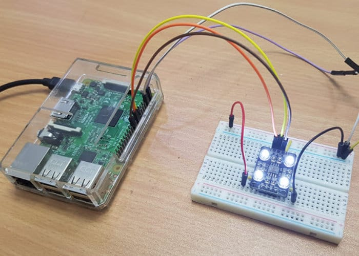 Detect Colour Using the Raspberry Pi
