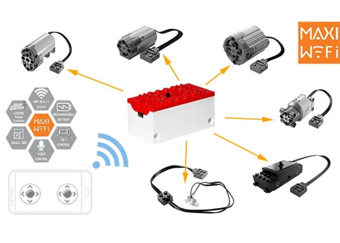 Easily Add WiFi Remote Control To LEGO Projects