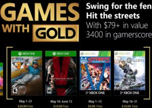 Free Xbox Games With Gold May 2018 Announced