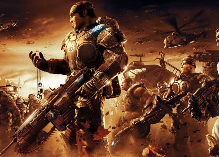 Gears of War 2 Xbox One X Enhanced Comparison