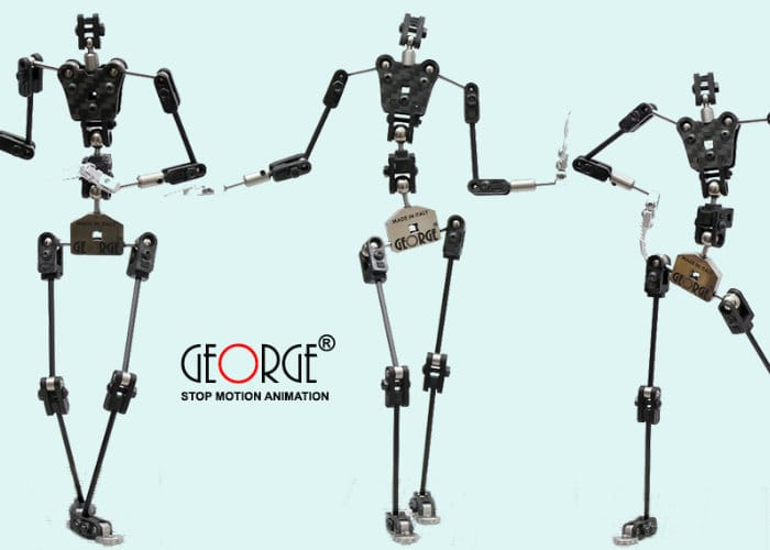 George Carbon Fibre Armature For Stop Motion Animation