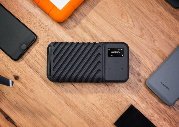 Gnarbox 2.0 Rugged Smartphone SSD