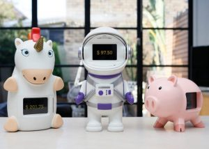 GoSave Smart Piggy Banks Designed To Help Kids Save Their Money