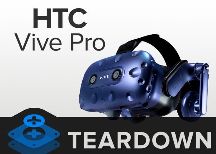 HTC Vive Pro Teardown By iFixit