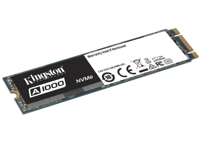 Kingston Entry-level A1000 NVMe PCIe SSD