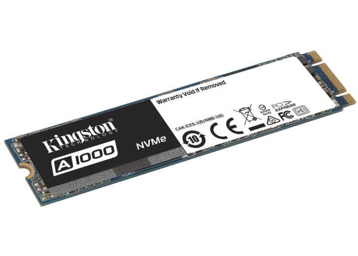 Kingston Entry-level A1000 NVMe PCIe SSD