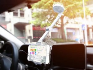 Layze 2-in-1 Podium Stand Car Mount