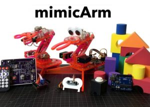 Learn to Code With mimicArm A.I. Robot
