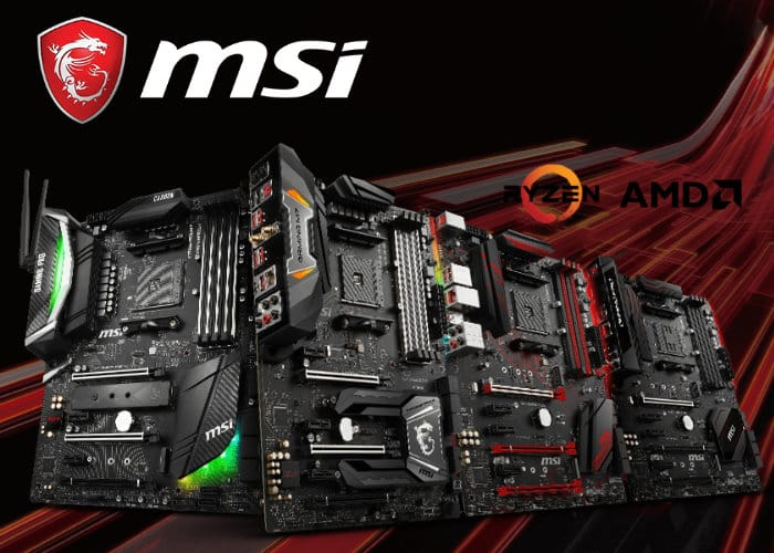 MSI AMD X470 Motherboard