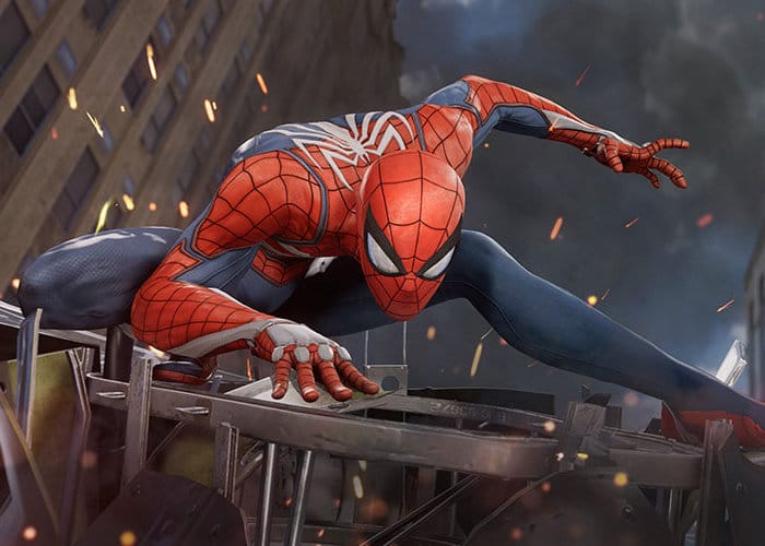 Marvel 2018 Spider-Man Game