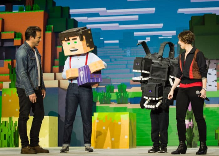 Minecraft Minecon Earth 2018