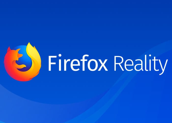 Mozilla Firefox Reality VR And AR Web Browser