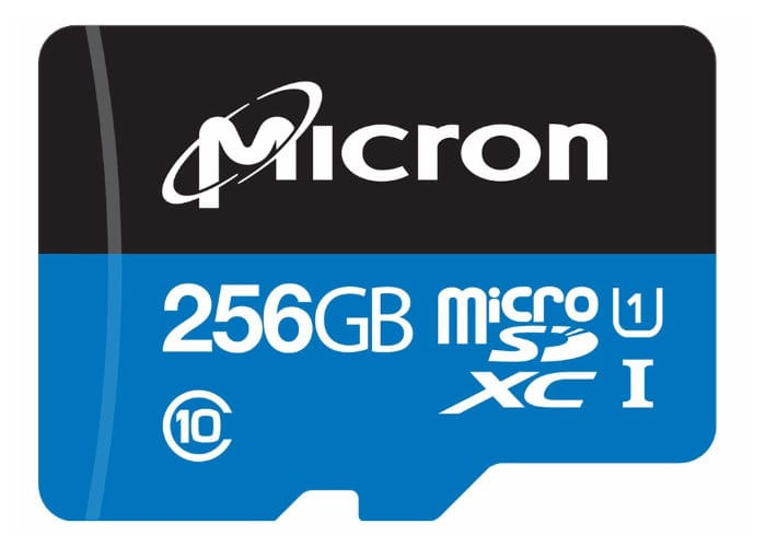 New Micron Edge Storage MicroSDXC Cards