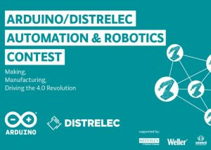 New Robotics And Automation Competition Announced By Arduino & Distrelec