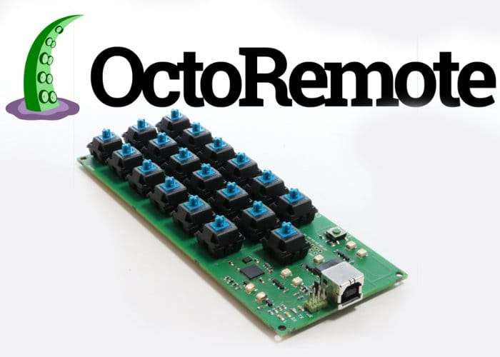 OctoRemote Hackable Keyboard