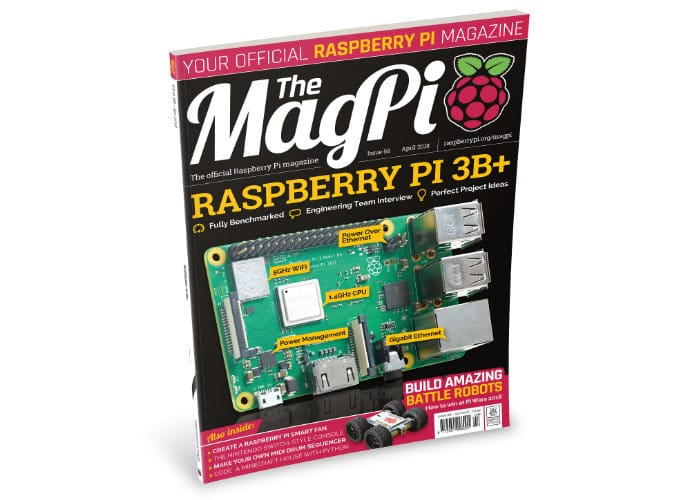 Official Raspberry Pi Magazine MagPi