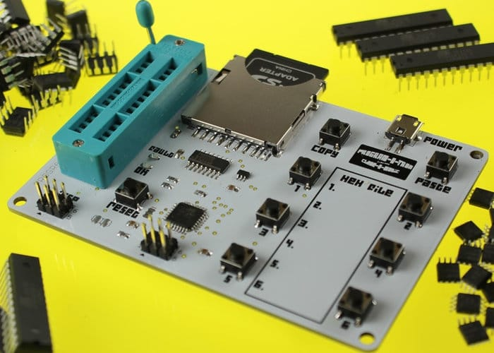 Program-O-Tron SD Card Standalone AVR Programmer