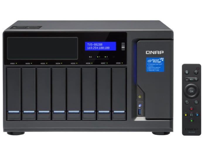 QNAP TVS-882BR-RDX NAS Storage Solution