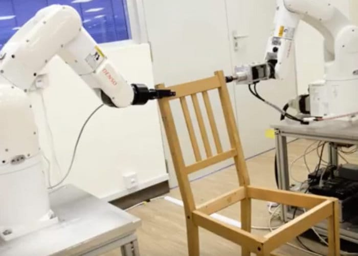 Robots Construct An IKEA Chair