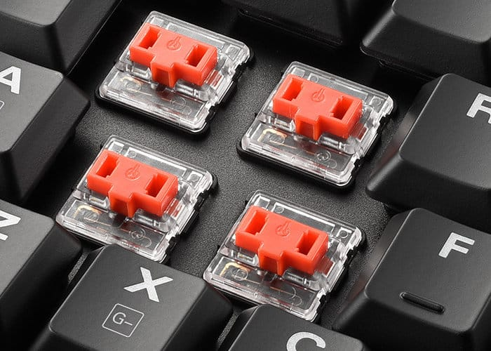 Sharkoon Low Profile Mechanical RGB Keyboards