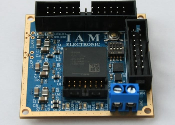 Small Form Factor FPGA Board With Xilinx Artix-7