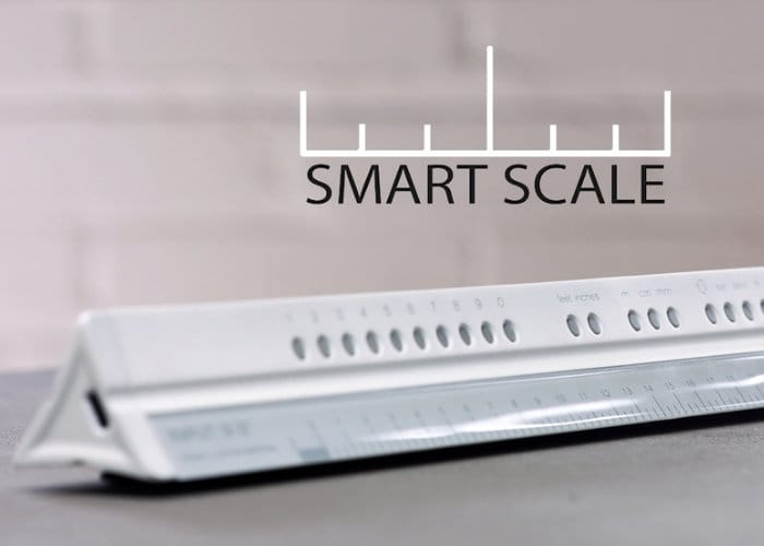 Smart Scale Ruler Hits Kickstarter