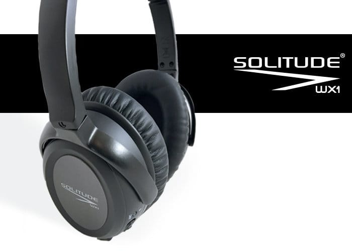 Solitude Dual Driver Noise Cancelling Wireless Headphones