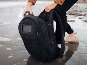Lifepack Solar Powered and Anti-Theft Backpack