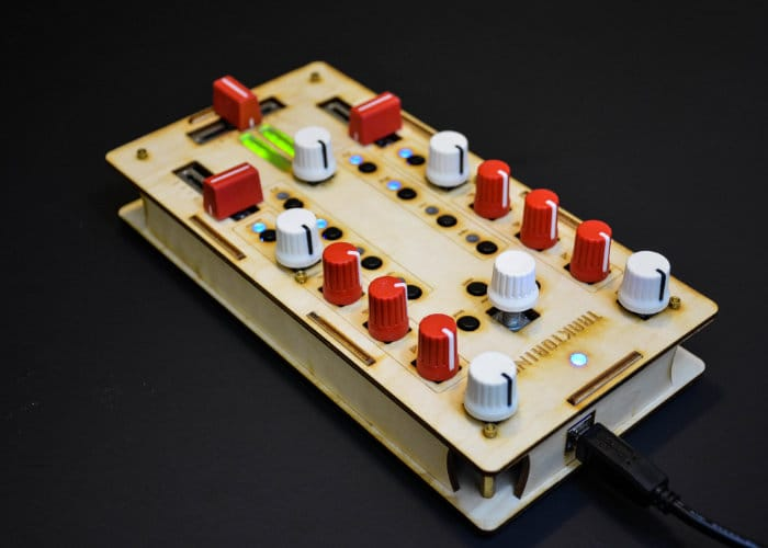 Traktorino Open Source DIY DJ MIDI Controller