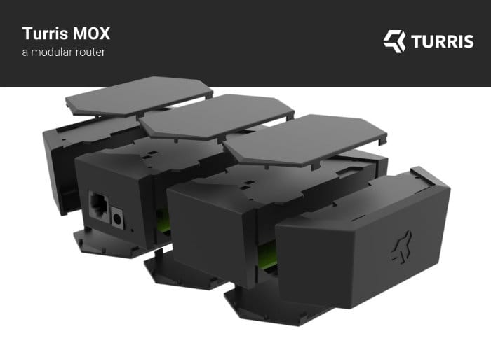 Turris MOX Modular, Open-Source Router