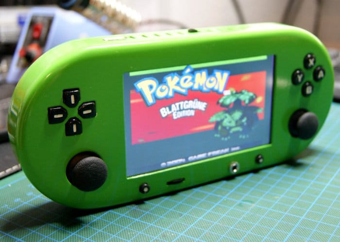 Updated Raspberry Pi Handheld Console GamePi 2