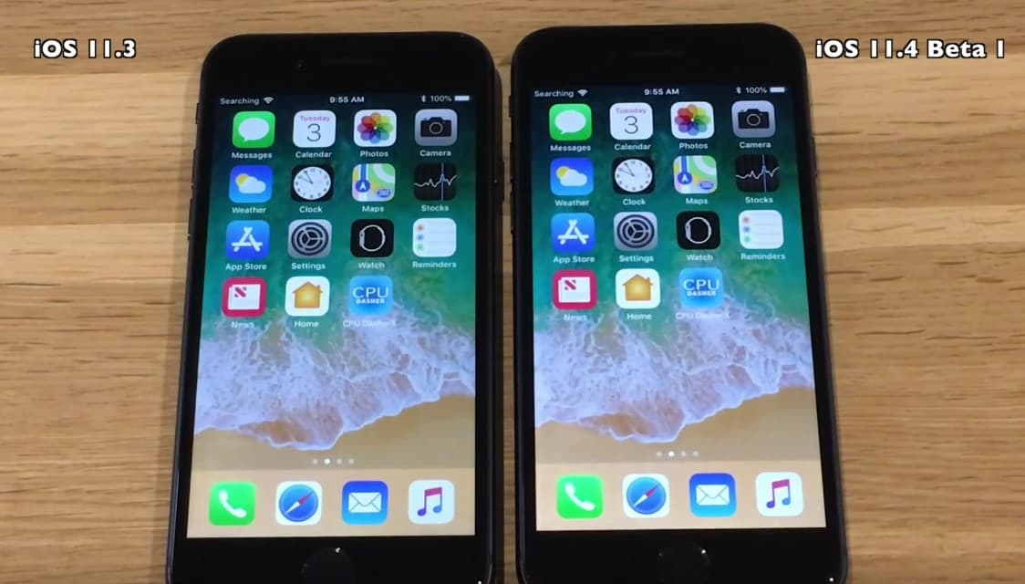 iOS 11.4 Beta 1 vs iOS 11.3
