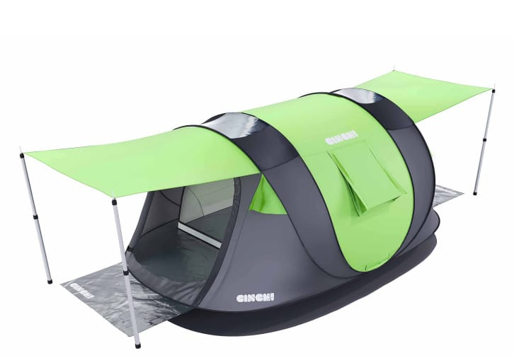 xuyxugvbfk8pcwnpodrq.jpg  sc 1 st  Geeky Gadgets & Cinch Smart Popup Tent With Smartphone Controlled Lighting And More ...