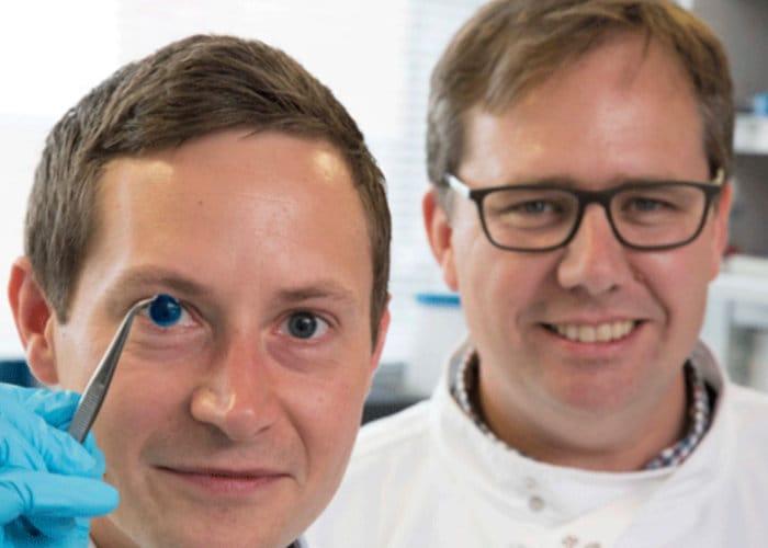 3D printed human cornea