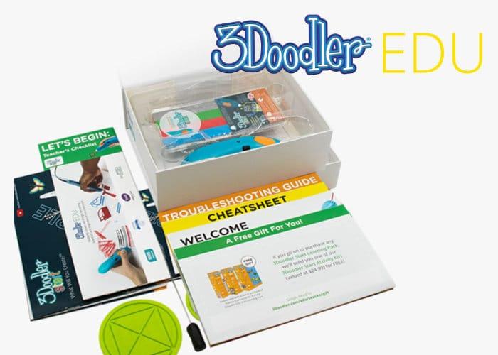 3Doodler EDU Learning Packs With 3D Printing Pens