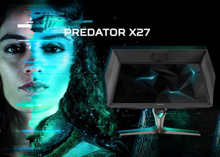 Acer Predator X27 4K HDR Monitor-2