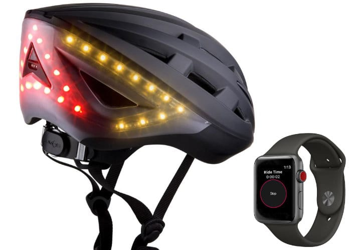 Apple Watch Can Now Control Lumos Helmet Bicycle Signals