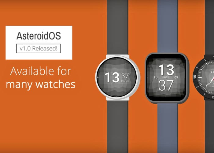 AsteroidOS v1.0 Released Wearable Operating System
