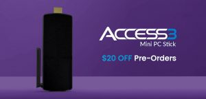 Azulle's Access3 Pocket PC Turns Any HDMI Display Into A PC