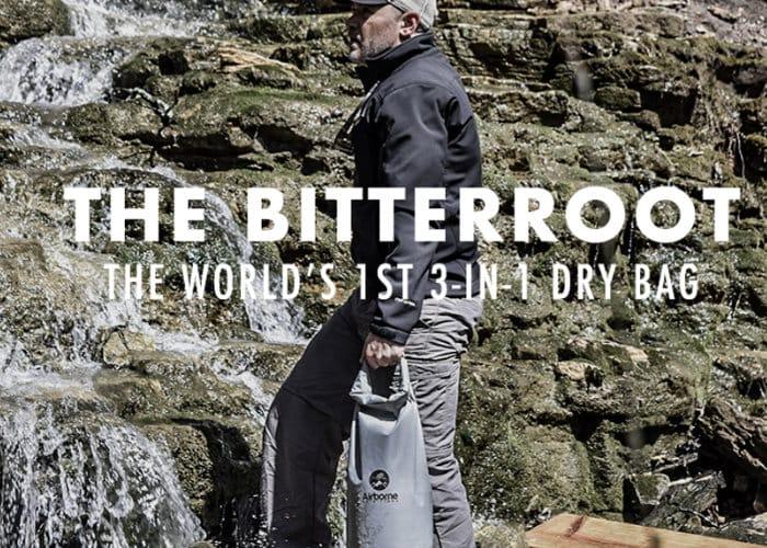 Bitterroot Dry Bag Hits Kickstarter