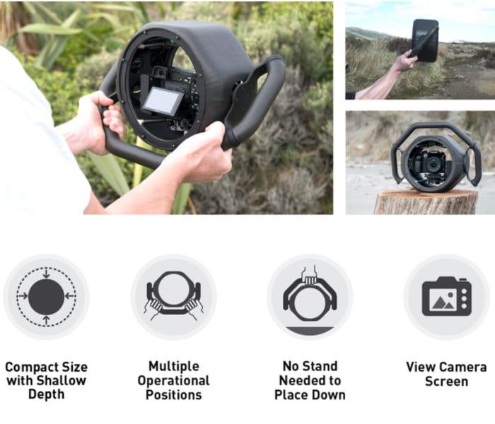 Camera stabilisation